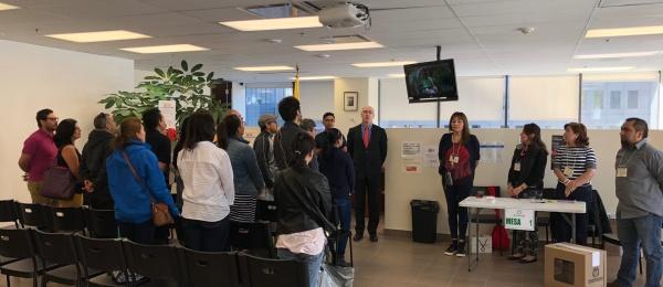 El Consulado de Colombia en Montreal inició la jornada de votación para elecciones presidenciales 2018-2022