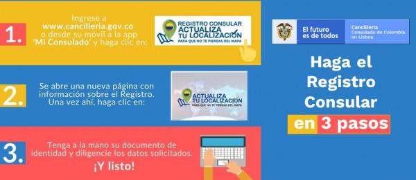 El Consulado de Colombia en Montreal invita a los connacionales a realizar el registro