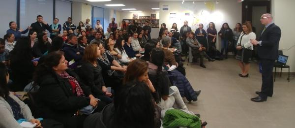 Charla Taller: la importancia del testamento en la Provincia de Quebec y tercer encuentro comunitario de 2019 en el Consulado de Colombia
