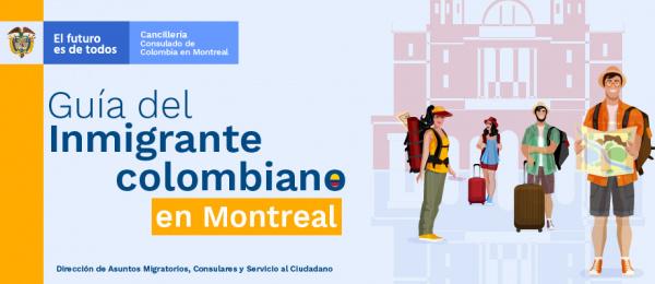 Guía del inmigrante colombiano en Montreal